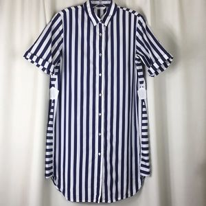 miglior sito web 0f977 9ba88 Xacus and Donna, striped tunic, Size 10, NWOT.